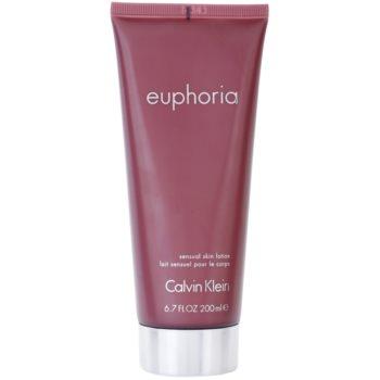 Calvin Klein Euphoria Body Milk for Women 6.7 oz