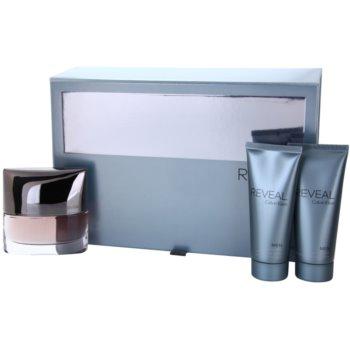 Calvin Klein Reveal Gift Set II. EDT 3,4 oz + Aftershave Balm 3,4 oz + Shower Gel 3,4 oz