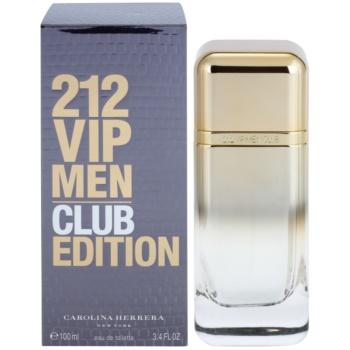 Carolina Herrera 212 VIP Men Club Edition EDT for men 3.4 oz