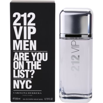 Carolina Herrera 212 VIP Men EDT for men 6.7 oz