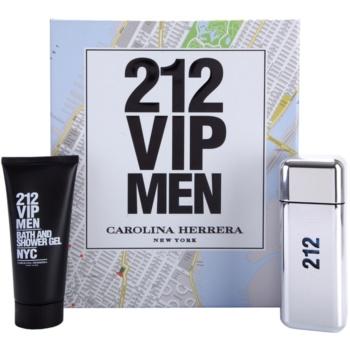 Carolina Herrera 212 VIP Men Gift Set II. EDT 3,4 oz + Shower Gel 3,4 oz