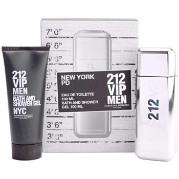 Carolina Herrera 212 VIP Men Gift Set V. EDT 3,4 oz + Shower Gel 3,4 oz