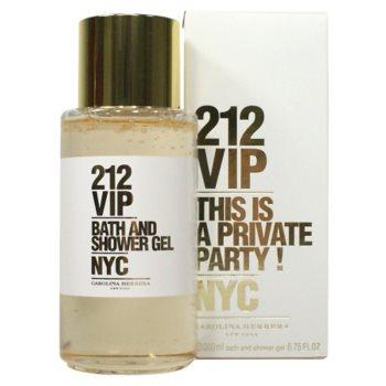 Carolina Herrera 212 VIP Shower Gel for Women 6.7 oz
