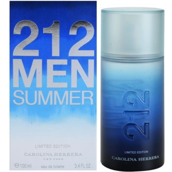 Carolina Herrera 212 Men Summer EDT for men 3.4 oz