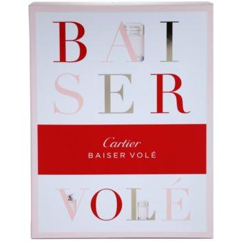 Cartier Baiser Vole Gift Set EDP 3,4 oz + Body Milk 1,7 oz + Shower Gel 3,4 oz