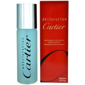 Cartier Declaration Deo spray for men 3.4 oz