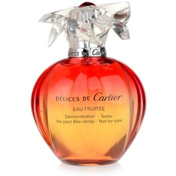 Cartier Delices de Cartier Eau Fruitee EDT tester for Women 3.4 oz