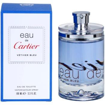 Cartier Eau de Cartier Vetiver Bleu EDT unisex 3.4 oz