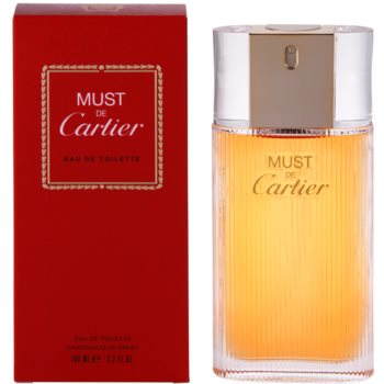 Cartier Must De Cartier EDT for Women 3.4 oz
