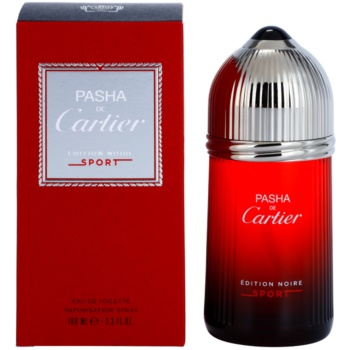 Cartier Pasha de Cartier Edition Noire Sport EDT for men 3.4 oz