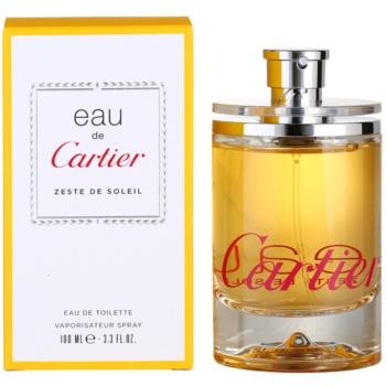 Cartier Eau de Cartier Zeste de Soleil EDT unisex 3.4 oz