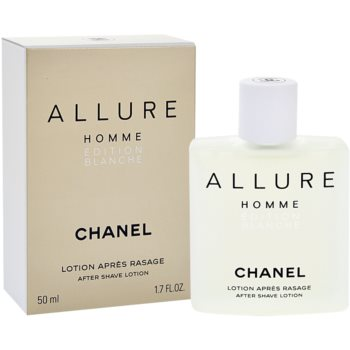 Chanel Allure Homme Edition Blanche After Shave Splash for men 1.7 oz