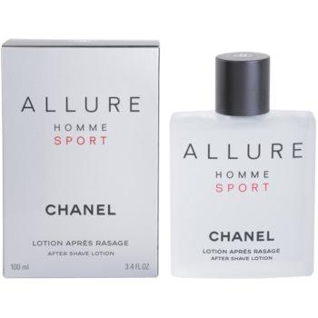 Chanel Allure Homme Sport After Shave Lotion for men 3.4 oz