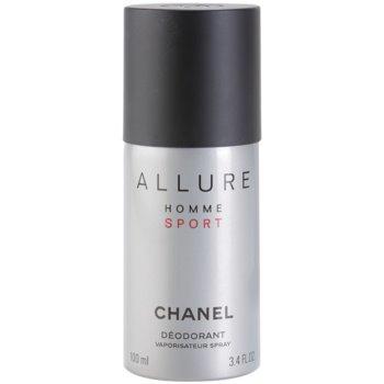 Chanel Allure Homme Sport Deo spray for men 3.4 oz