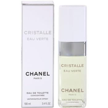 Chanel Cristalle Eau Verte Concentree EDT for Women 3.4 oz