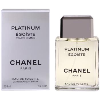 Chanel Egoiste Platinum EDT for men 3.4 oz