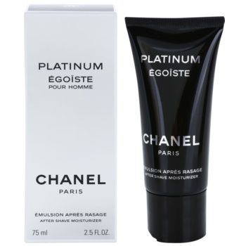 Chanel Egoiste Platinum After Shave Emulsion for men 2.5 oz