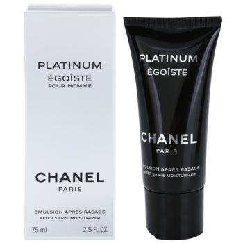 Chanel Egoiste Platinum After Shave Emulsion for men 2.5 oz