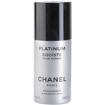 Chanel Egoiste Platinum Deo spray for men 3.4 oz