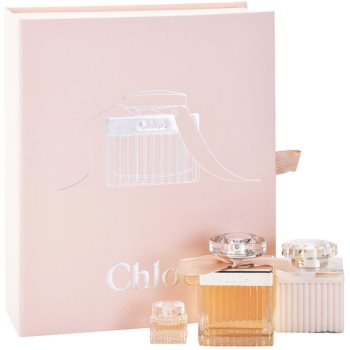 Chloe Chloe Gift Set EDP 2,5 oz + Body Milk 3,4 oz + EDP 0,2 oz