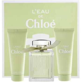 Chloe L'Eau De Chloe Gift Set I. EDT 3,4 oz + Body Milk 2,5 oz + Shower Gel 2,5 oz