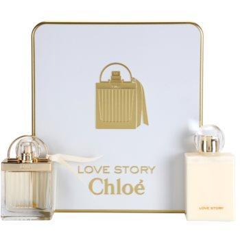 Chloe Love Story Gift Set I. EDP 1,7 oz + Body Milk 3,4 oz
