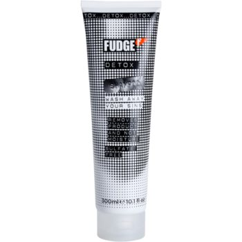 Fudge Detox Deep Cleanse Clarifying Shampoo With Moisturizing Effect (Removes Product and Not Moisture) 10 oz FDGDTXW_KSHA05