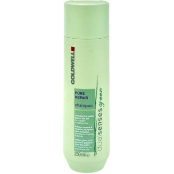 Goldwell Dualsenses Green Pure Repair Shampoo For Stressed And Damaged Hair  8.5 oz GLWGREW_KSHA40