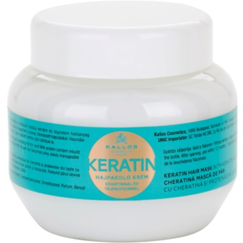 Kallos KJMN Mask With Keratin (Keratin Hair Mask with Keratin and Milk Protein) 9.3 oz KALKJMW_KMSQ45