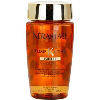 Kérastase Elixir Ultime Rich Oil Shampoo For Thick, Coarse And Dry Hair  8.5 oz KERELXW_KSHA29