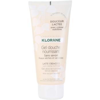 Klorane Hygiene et Soins du Corps Douceur Lactee Nourishing Shower Gel  6.7 oz KLOHSLW_KSWG10