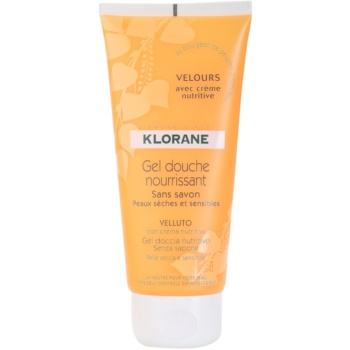 Klorane Hygiene et Soins du Corps Velours Nourishing Shower Gel (Nourishing Shower Gel) 6.7 oz KLOHSVW_KSWG10