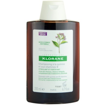 Klorane Quinine Energising Shampoo For Weak Hair (Revitalizing and Strengthening Thinning Hair, Complementary to Hair Loss Treatments) 6.7 oz KLOQUIW_KSHA50
