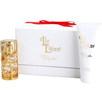 Lolita Lempicka Elle L'aime Gift Set III. EDP 1,4 oz + Body Milk 3,4 oz
