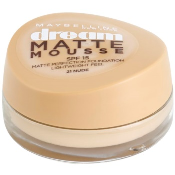 Maybelline Dream Matte Mousse Mattifying Make - Up Color 21 Nude 0.6 oz MAYDMMW_KMUP30