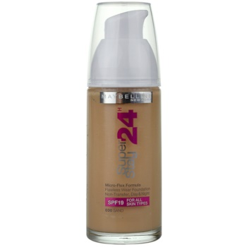 Maybelline SuperStay 24 Color Liquid Foundation Color 030 Sand 1 oz MAYS24W_KMUP40