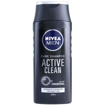 Nivea Men Active Clean Shampoo With Active Charcoal  8.5 Oz