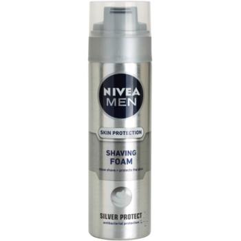 Nivea Men Silver Protect Shaving Foam (shaving Foam) 6.7 Oz