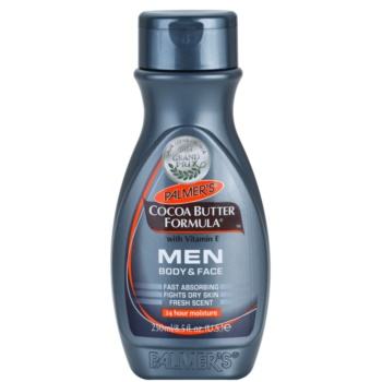 Palmer's Men Cocoa Butter Formula Moisturizer for Face and Body With Vitamine E (24 hour Moisture Fast Absorbing Fights Dry Skin Fresh Scent) 8.5 oz PALMENM_KBOC10