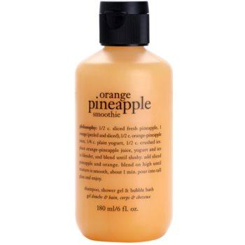 Philosophy Pineapple Orange Smoothie Shower Gel for Women 6 oz PHLPOSW_DSWG20