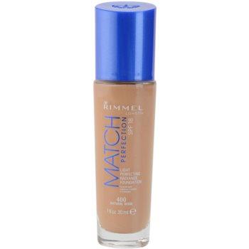 Rimmel Match Perfection Liquid Foundation SPF 18 Color 400 Natural Beige 1 oz RIMMPRW_KMUP30