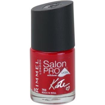 Rimmel Salon Pro By Kate Nail Polish With Lycra Color 703 Rock N Roll 0.4 oz RIMSPKW_KLAQ03