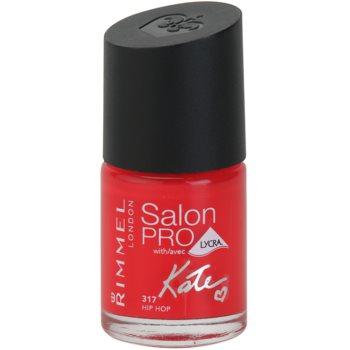 Rimmel Salon Pro By Kate Nail Polish With Lycra Color 317 Hip Hop 0.4 oz RIMSPKW_KLAQ31