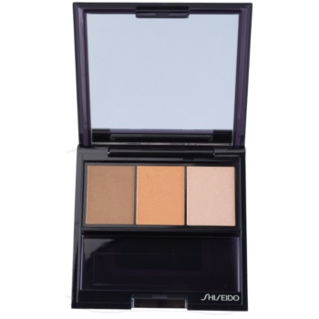 Shiseido Eyes Luminizing Satin Trio Eye Shadow Color BR 209 Voyage 0.1 oz SHIECTW_KEYS15