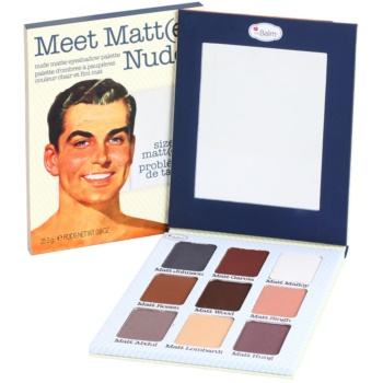 theBalm Meet Matt(e) Nude Eye Shadow Palette (Nude Matte Eyeshadow Palette) 0.9 oz TBAMMNW_KEYS10