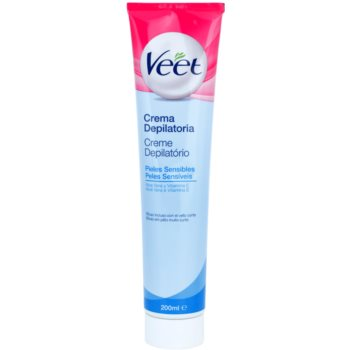 Veet Depilatory Cream Hair Removal Cream For Sensitive Skin Aloe Vera and Vitamin E (Aloe Vera + Vitamin E) 6.7 oz VEEDECW_KLCR20