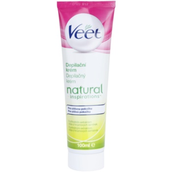 Veet Natural Inspirations Hair Removal Cream For Sensitive Skin 3.4 oz VEENAIW_KLCR10