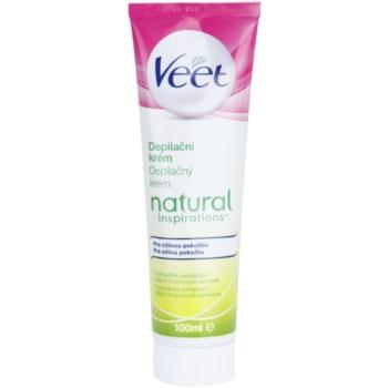 Veet Natural Inspirations Hair Removal Cream For Sensitive Skin  3.4 oz VEENAIW_KLCR10