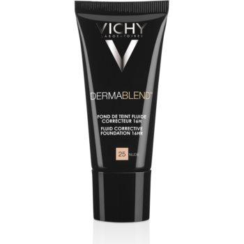 Vichy Dermablend Corrective Foundation SPF 35 Color 25 Nude  1 oz VCHDBLW_KMUP40