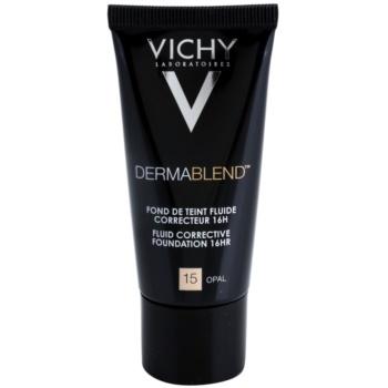 Vichy Dermablend Corrective Foundation SPF 35 Color 15 Opal (Fluid Corrective Foundation 16 h) 1 oz VCHDBLW_KMUP30